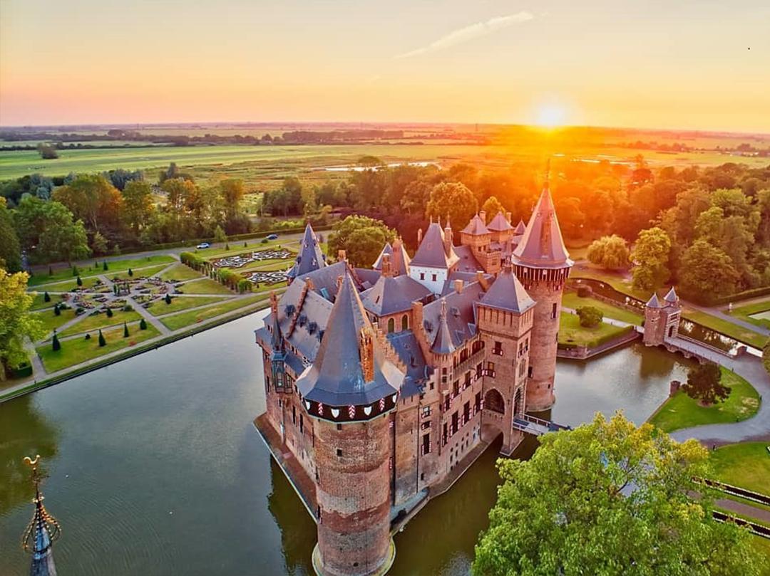 замок дехаар фототур в амстердам