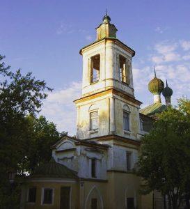 Георгиевская церковь достопримечательность Торжок
