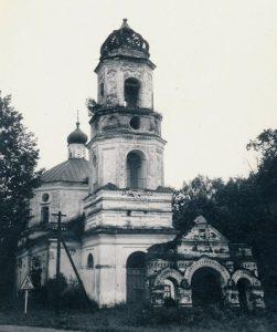 Церкви Казанской иконы в селе Рашкино
